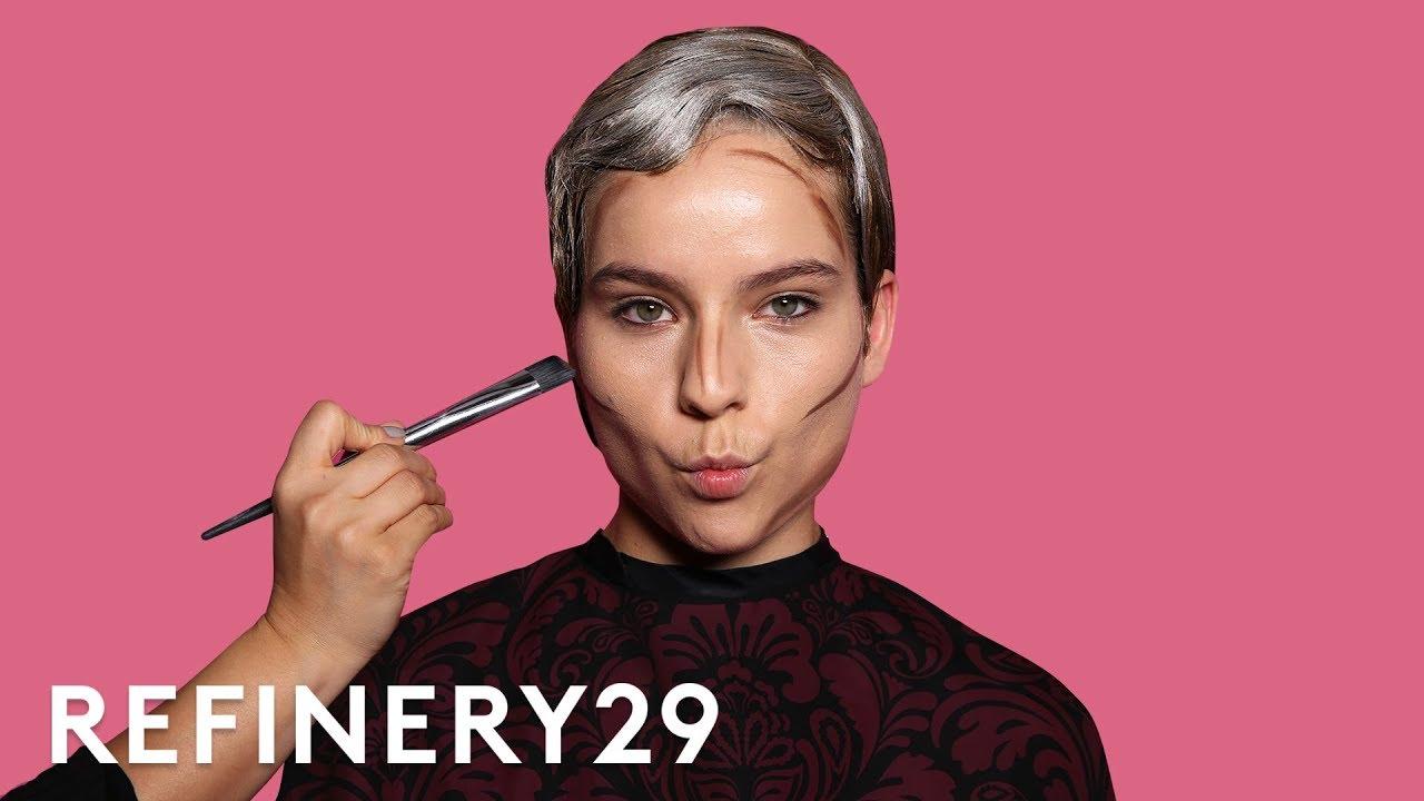I Got Transformed Into Cara Delevingne | Beauty Evolution ...