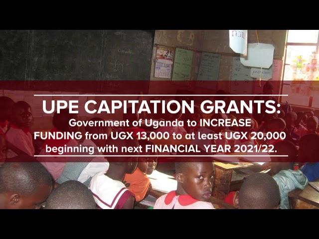 Increase UPE Capitation Grant