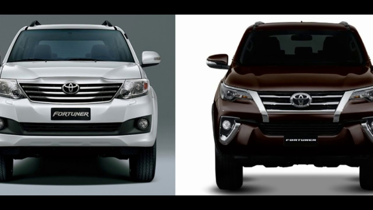 Toyota Fortuner Old vs New Specifications Comparison