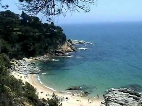 Beach Santa Cristina - Blanes - Lloret de Mar - Spain