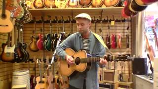 Musik i butik - Marcus Svensson.