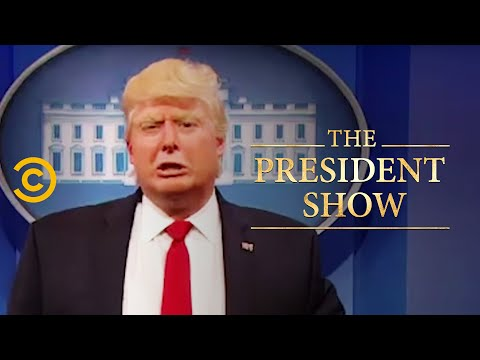 The President Responds to James Comey's Hearing - The President Show - Comedy Central