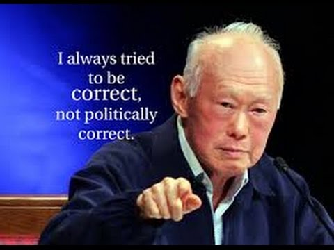 Lee Kuan Yew to the philippine press before