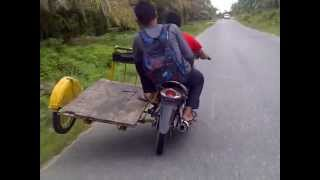 balap liar becak solok part 2