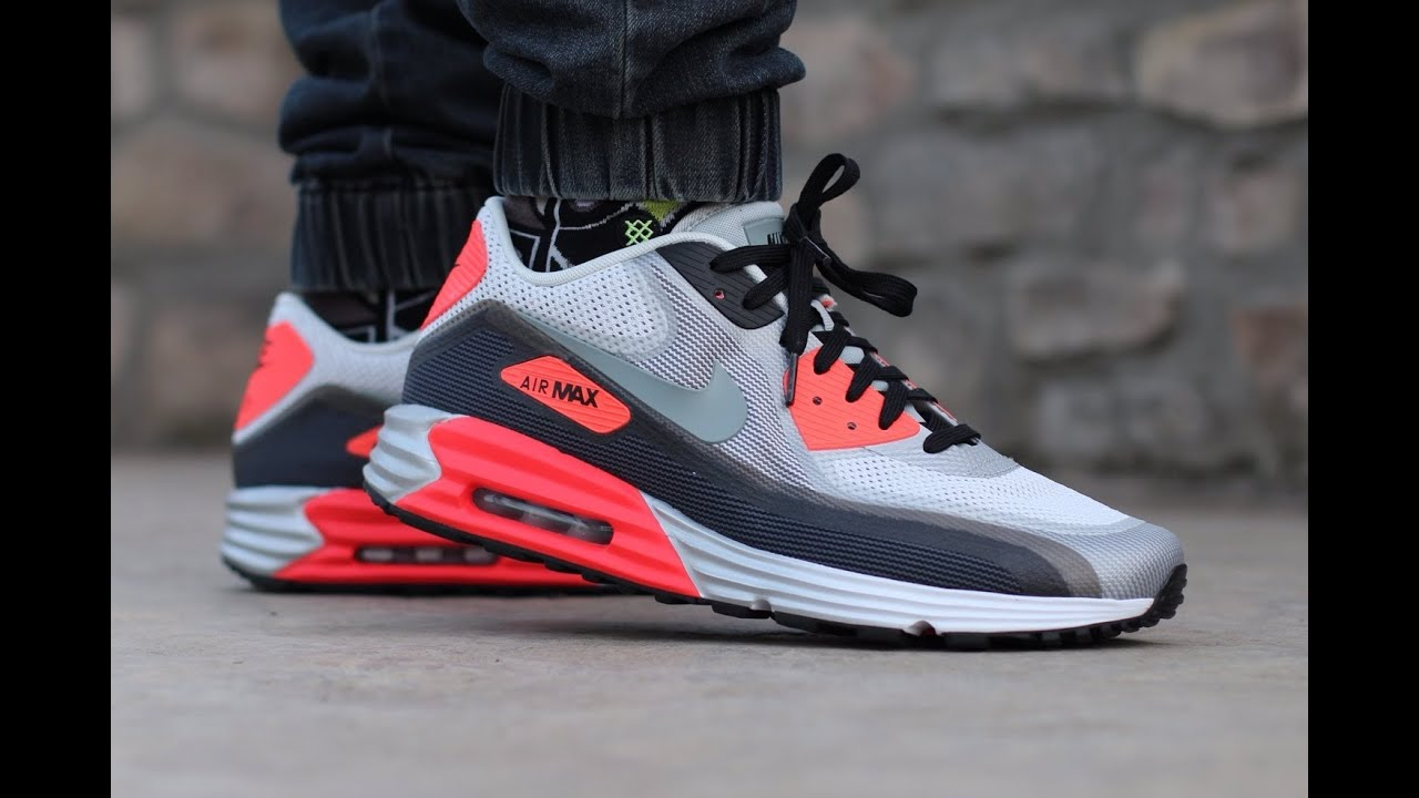 sélection premium 90594 85555 Nike Air Max Lunar90 (on feet)