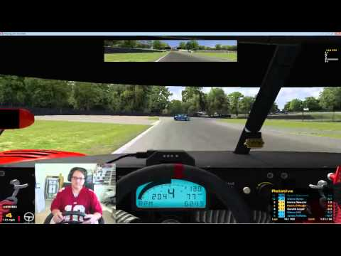 One of the best road races in my career.  Iracing Grand Am - Brands Hatch 2013 Complete Race
