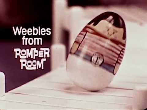 1970's Weebles Commercial