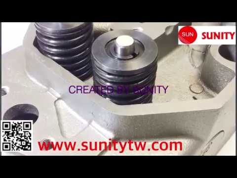 TAIWAN SUNITY - Diesel marine parts rebuilded 2T 3T CYLINDER HEAD ASSEMBLY  for yanmar engine