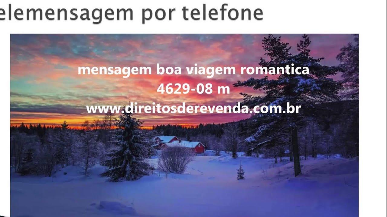 Mensagem De Boa Viagem Para Amor: Telemensagem Boa Viagem Romantica 4629-08