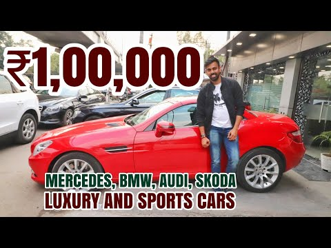 LUXURY & SPORTS CARS IN CHEAP | MERCEDES AUDI BMW | SPEEDY TOYZ CAR MARKET DELHI