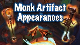 Legion Beta - Artifact Weapon Appearances: Monk (Jessiehealz)