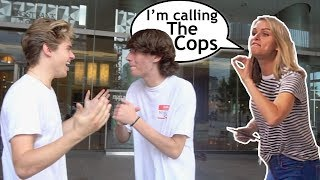 She Called The Cops On Us! Ft. Baylen Levine