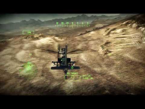 Apache Air Assault Gameplay - Hitting Ground Targets