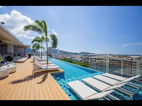 The Marina Phuket Hotel + INFINITY Pool Review - Patong Beach - Phuket - Thailand