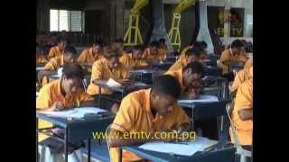 Grade 12 Students Sit for National Exams