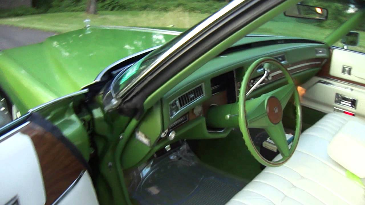 1974 Cadillac Coupe Deville Quot Persian Lime Quot Youtube