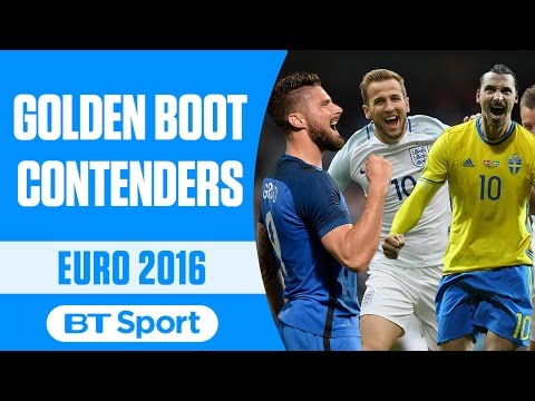 Euro 2016 Golden Boot Contenders   Kane  Ronaldo  Zlatan and more New Flash Game