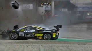 Ferrari Challenge (World Final Coppa Shell) 2018. Autodromo Nazionale Monza. Start Crashes