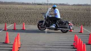 MOTORCYCLE SLOW RIDE PRACTICE 4/7/2013