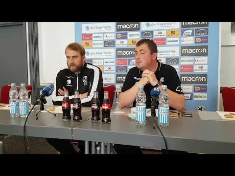 1. FC Saarbrücken - TSV 1860 München: Pressekonferenz mit Daniel Bierofka