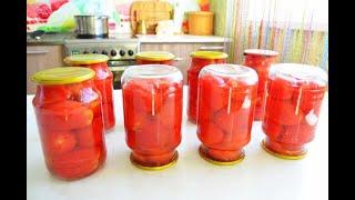 Таких помидоров много не бывает, сколько не сделай сьедаются быстро!