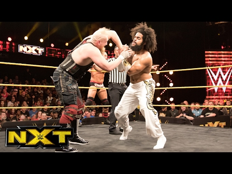 Tye Dillinger, No Way Jose & Roderick Strong vs. SAnitY: WWE NXT, Feb. 8, 2017