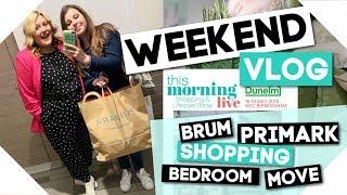 Weekend Vlog / Primark Shopping → Bedroom Moving