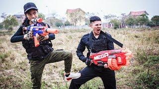 LTT Nerf War : Nerf Guns Gaming SEAL X And Teammates Attack Criminal Group | MEGA Nerf Guns thumbnail