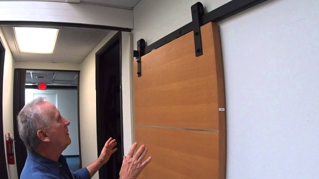 Barn Door Hardware | Soft Close Barndoor Hardware Review   YouTube