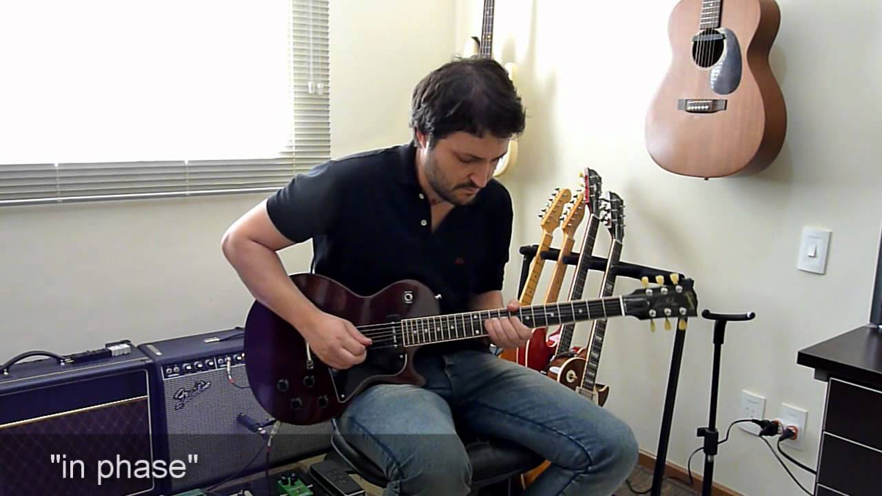 In Phase and Out of Phase tones - How to do with P90 pickups - YouTube