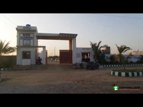 120 Sq. Yd. RESIDENTIAL PLOT AVAILABLE FOR SALE IN ROK COOPERATIVE HOUSING SOCIETY SCHEME 33 KARACHI
