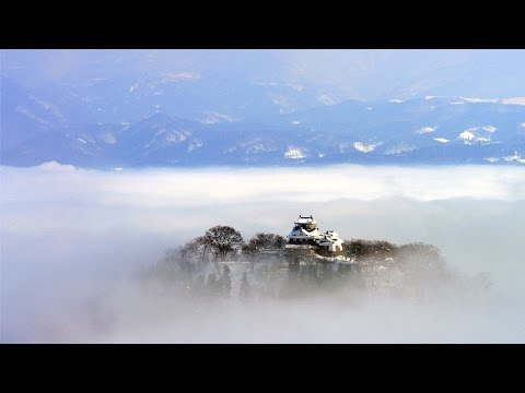 Japanese Castle 'Floating' In The Air