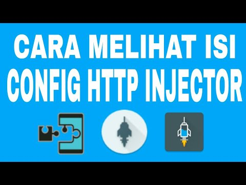 Cara Melihat Isi Config Http Injector Yang Terkunci (SNIFF CONFIG) by YANDI  TUTORIAL