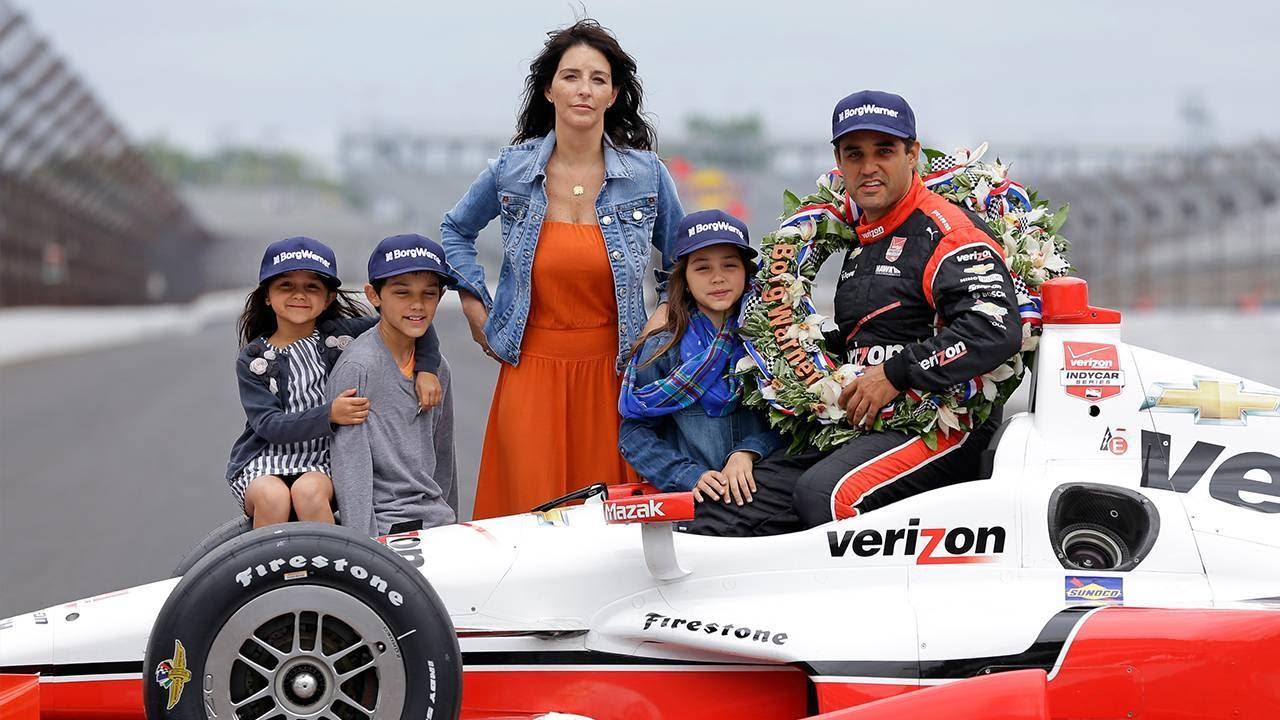 Indy  Winner Juan Pablo Montoya Visits The New York Stock Exchange