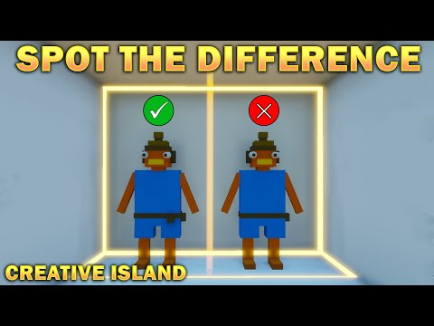 Spot The Difference - Fortnite Creative Island By Derponce (6278-1230-9351) Puzzle Map