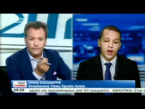 """Ηλίας Κασιδιάρης:""""Θα γίνουμε ακόμη πιο επιθετικοί & απαιτητικοί για το καλό του κοινωνικού συνόλου"""" (βίντεο)"""