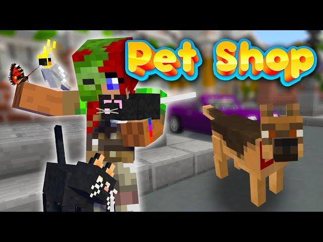 Otrolig Djuraffär i Minecraft!! 🐹😍