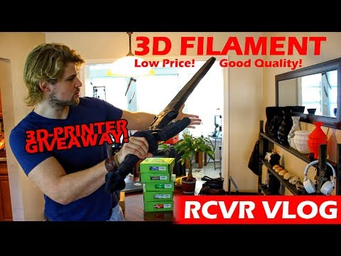 Which Filament is BEST?! | 3D-Printing Vlog Projects & Giveaway