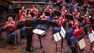 U S Marine Band and Joseph Schwantner