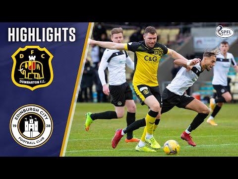 Dumbarton Edinburgh City Goals And Highlights