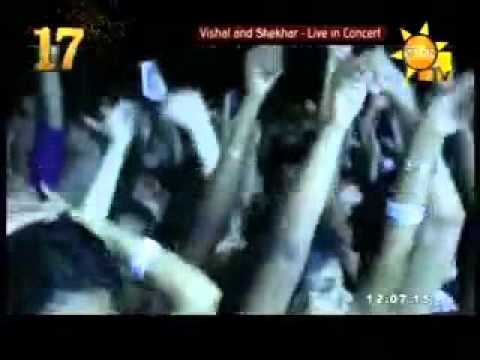 Vishal and Shekhar live in concert with Neeti mohan in havelock ground colombo 2015.06.30