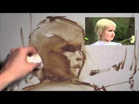 David McLeod - The Portrait In Oil #1