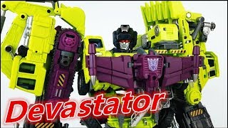Transformers Generation Toy Devastator变形金刚GT大力神合体180-刘哥模玩