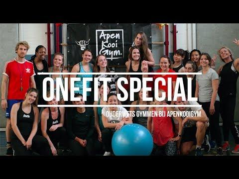 OneFit special event ouderwets gymmen bij ApenkooiGym - Rotterdam