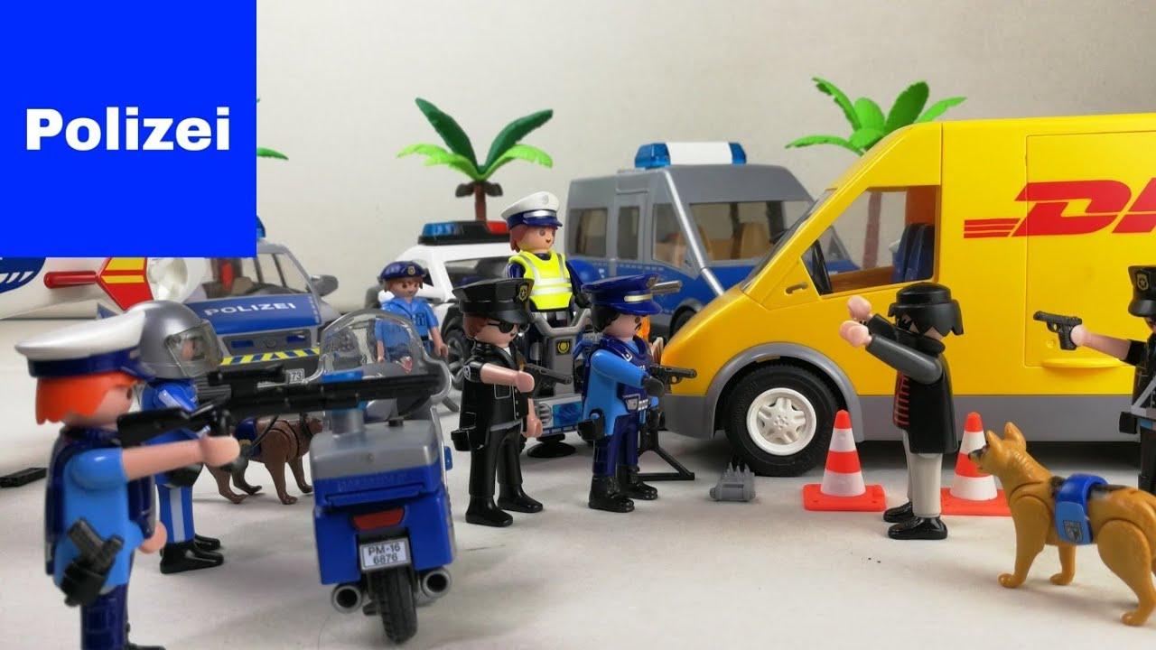 Feuerwehr polizei playmobil