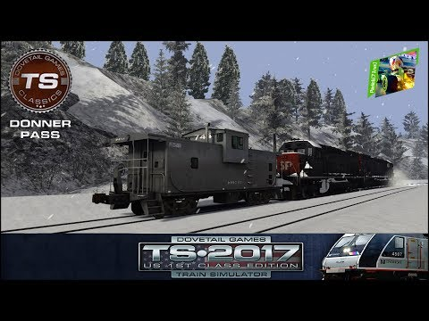 TS2017 - #4 - Donner Pass: Southern Pacific Route Add-On - Cold Play 4/4
