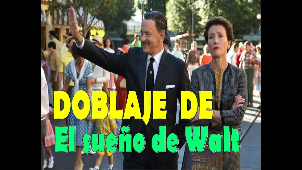 Actores de Doblaje - El sueño de Walt