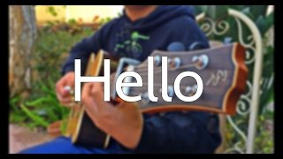 (Adele) Hello - [Free Tabs] Fingerstyle Cover