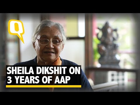Sheila Dikshit on AAP Government's Third Anniversary | The Quint