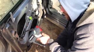 Шумоизоляция двери Daewoo Gentra(, 2015-03-29T15:09:29.000Z)